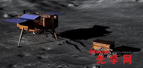 嫦娥三号登陆月球