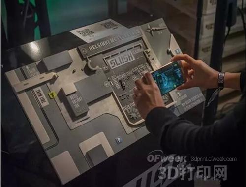 Versoteq 3D打印触觉地图:视障人士的导航器