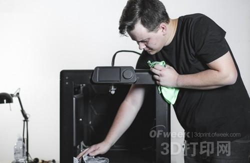 ARC-One 3D打印机发起众筹 打印尺寸达40厘米