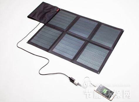 汉能发布薄膜太阳能发电充电新品