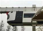 世界首条新能源空铁成都试跑 以锂电池动力包为动力源