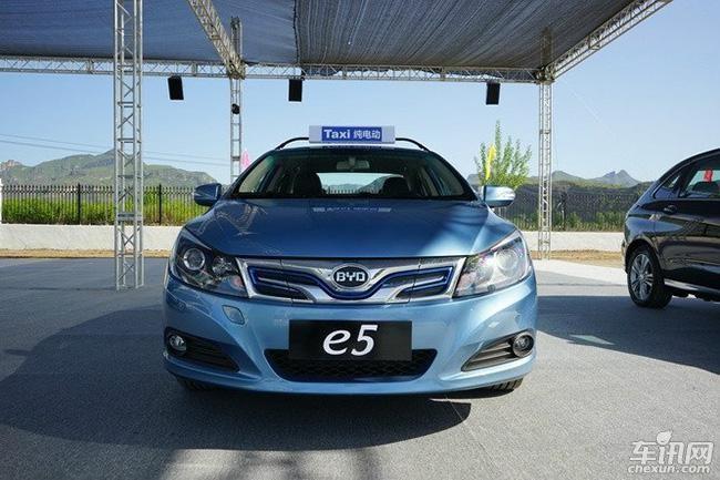 比亚迪3款纯电动汽车即将推出:秦EV/e5/新e6