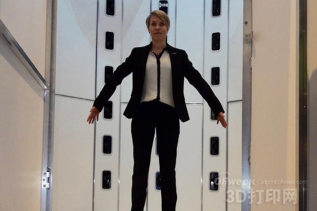 惠普发布Avatar Platform可获取人体3D扫描数据