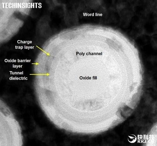 首次探秘 三星48层3D闪存拆解:简直外星科技!