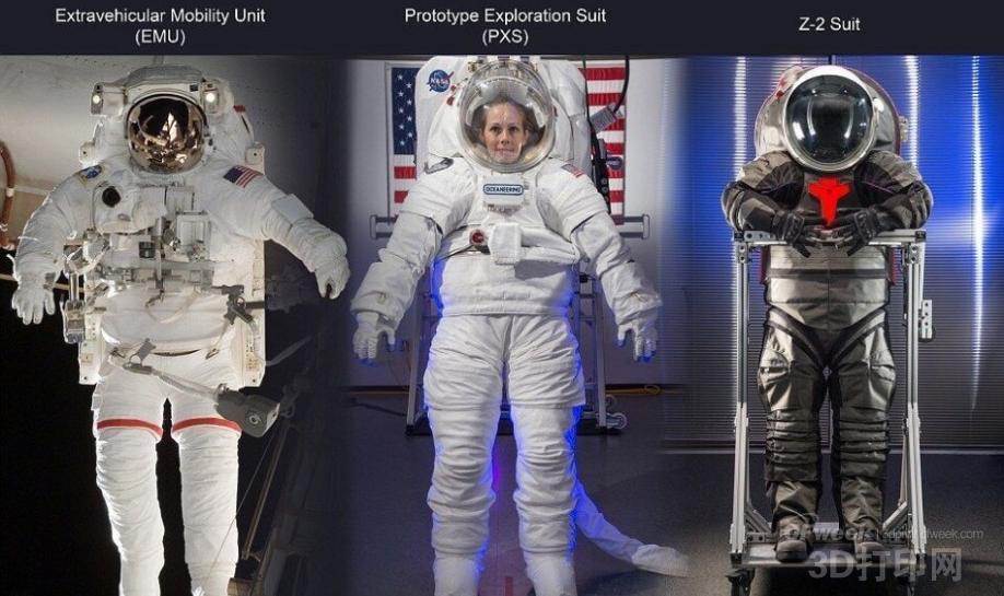 美宇航员将穿3d打印太空服登陆火星