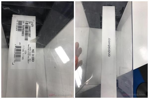 LG Watch Style再曝光:这回是包装盒