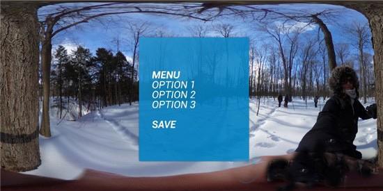 如何为房间规模VR交互式体验设计UI?