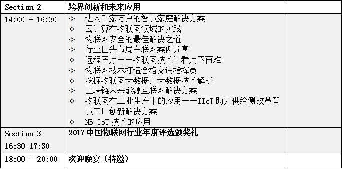 OFweek 2017中国物联网大会暨新技术展览会即将举办