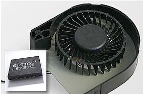 ELMOS推出单芯片汽车级直流无刷电机驱动方案