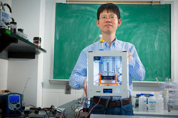 "3D打印石墨烯气凝胶成""密度最小的3D打印结构"""
