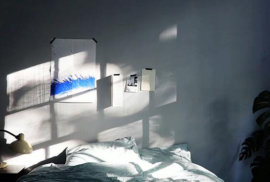 leslie nooteboom 推出灯饰投影 让你的房间充满阳光