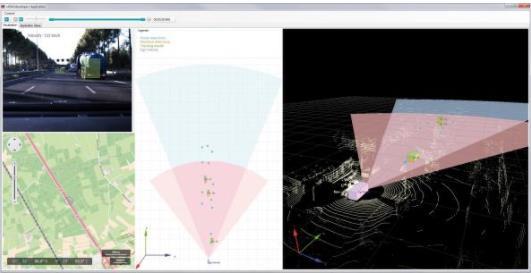 ADAS开发工具支持多种传感器