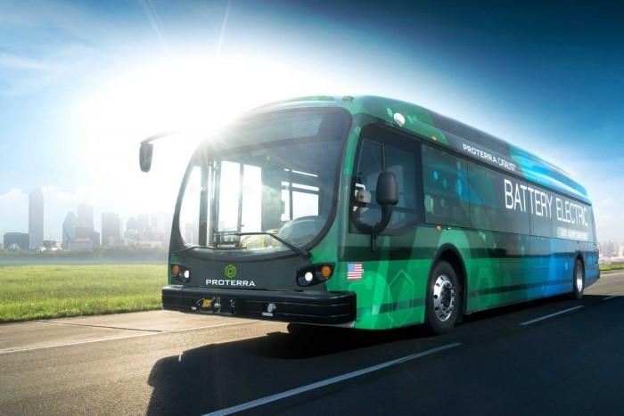 美国Proterra电动巴士公司宣布双马达方案 更高能效