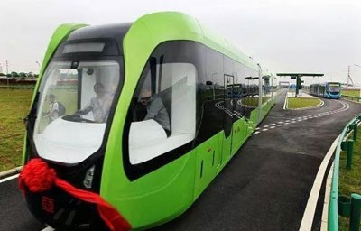 智轨列车,让中国交通再次领先