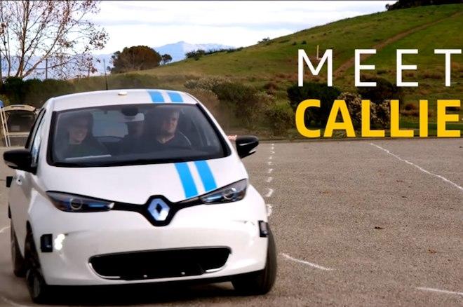 雷诺发布全新自动避障技术 自动驾驶一大进步