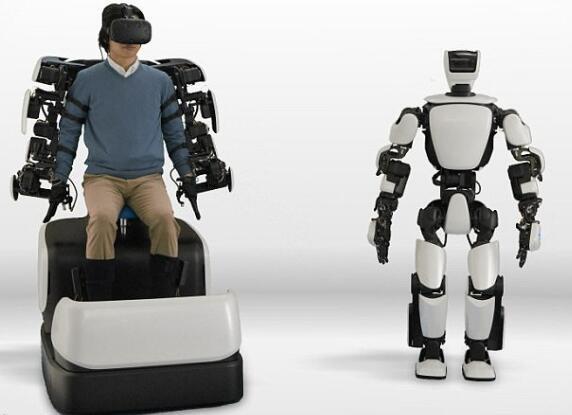 左手右手慢动作!HTC Vive可控制丰田人形机器人