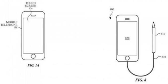 苹果新专利:Apple Pencil可以用在iPhone