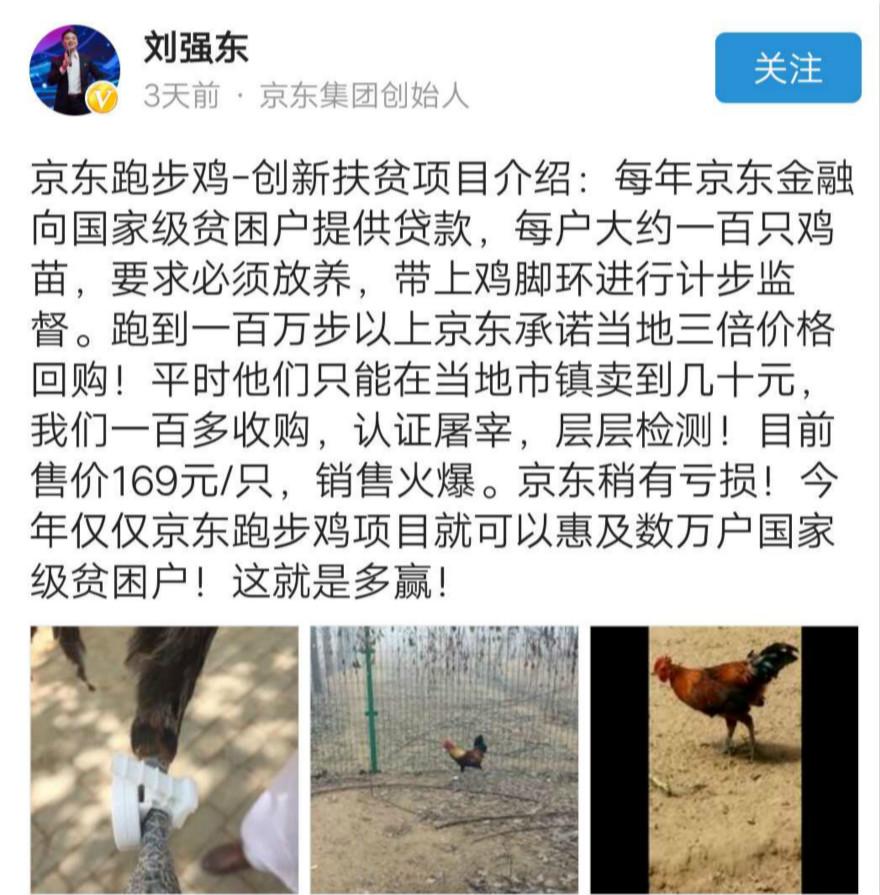 """关注农业的不止丁磊 京东金融要帮农民""""养鸡"""""""