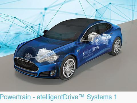 麦格纳推出etelligentDrive系统 提供电气化动力总成架构方案