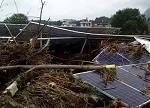 一光伏电站毁于暴雨,电站安全迎考验