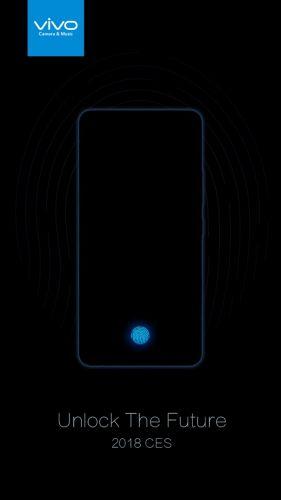 vivo屏下指纹识别手机曝光:最快CES 2018亮相