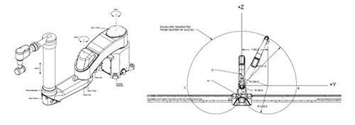 内喷开门机器人的应用研究
