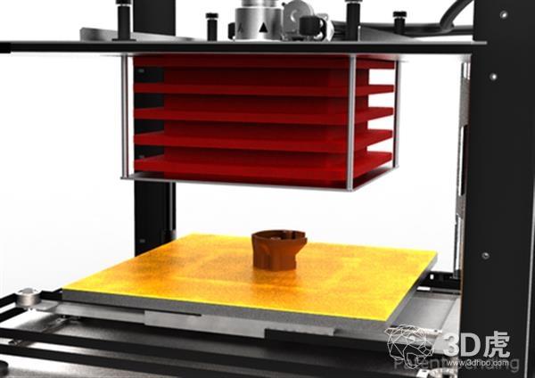 SpiderBot推出具有自适应打印室的新型ABSolute3 3D打印机