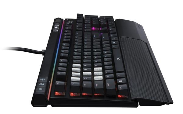 金士顿发布阿洛伊精英机械键盘:宏和灯光跟你走