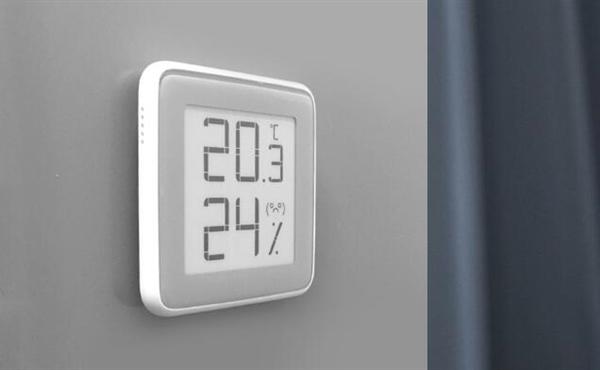 秒秒测温湿度计:E-ink电子墨水屏 还会卖萌