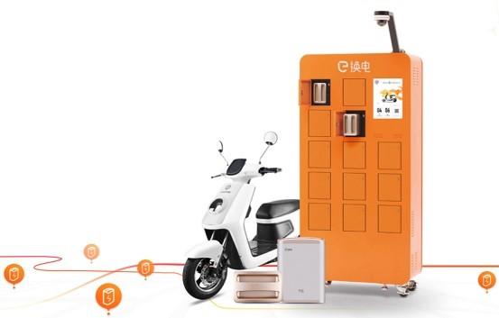 IMMOTOR携电动车共享智能锂电品牌e换电亮相CES