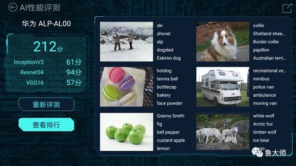 鲁大师2017 AI手机性能榜:华为笑傲江湖