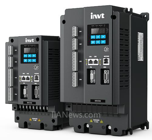 英威腾新一代高性能DSV200系列伺服主轴驱动器正式面市