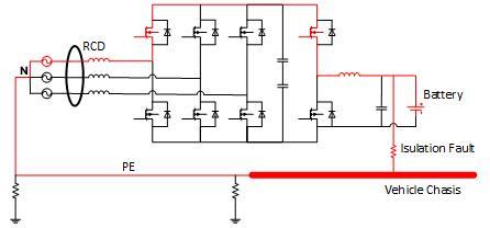 浅谈电动汽车V2G系统中的漏电问题