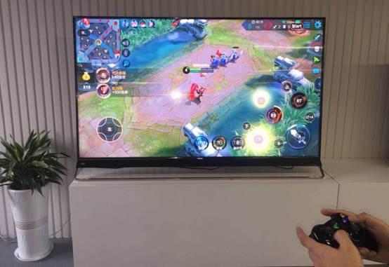 海信人工智能电视独家首发 与腾讯游戏管家强强联合