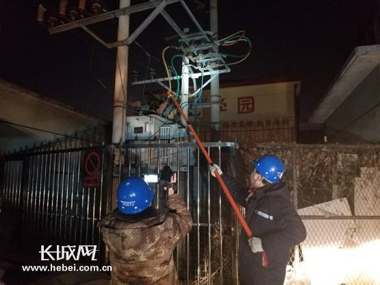 永清震后电网无恙 廊坊境内电网运行正常