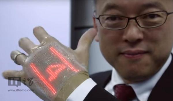 日本研发出超薄皮肤:可监测脉搏速度,还能显示动态表情