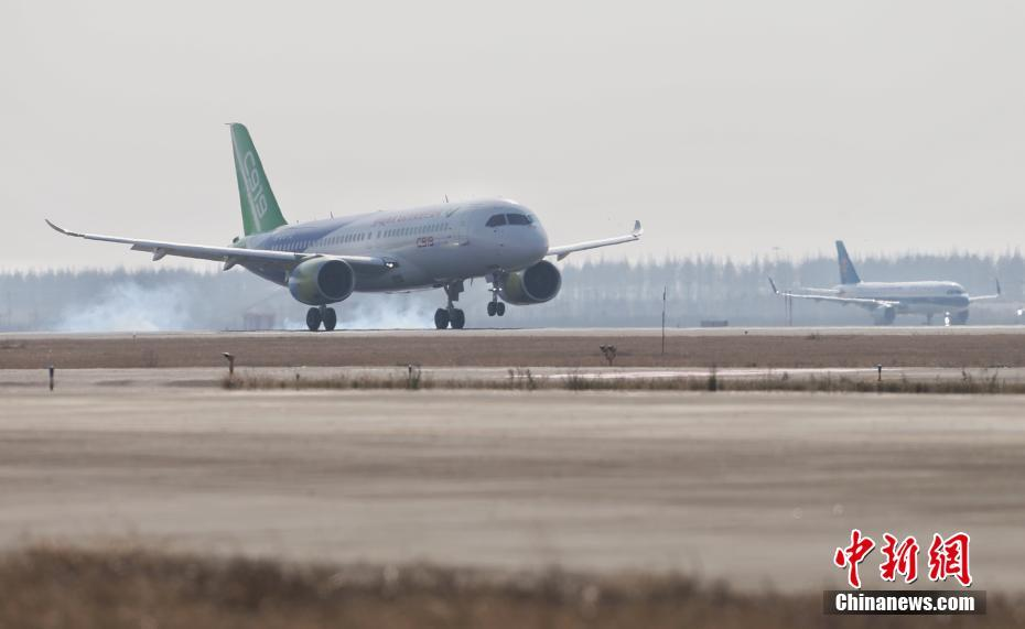 C919第三架今年将在上海首飞,发动机核心机取得重要进展