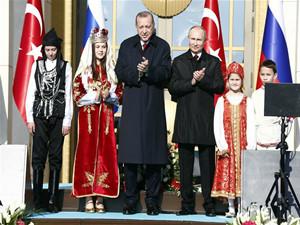 土耳其与俄罗斯合作建设的土首座核电站破土动工