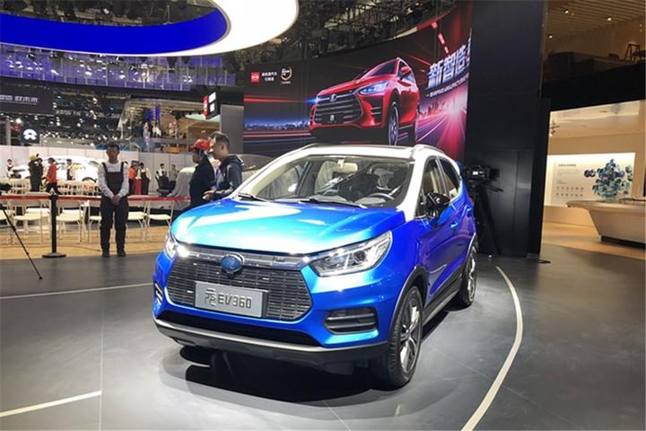 高性价比纯电动SUV 比亚迪元EV360实拍