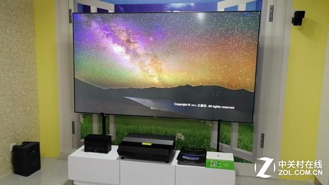 超大屏技术突进 三色家庭激光影院图赏
