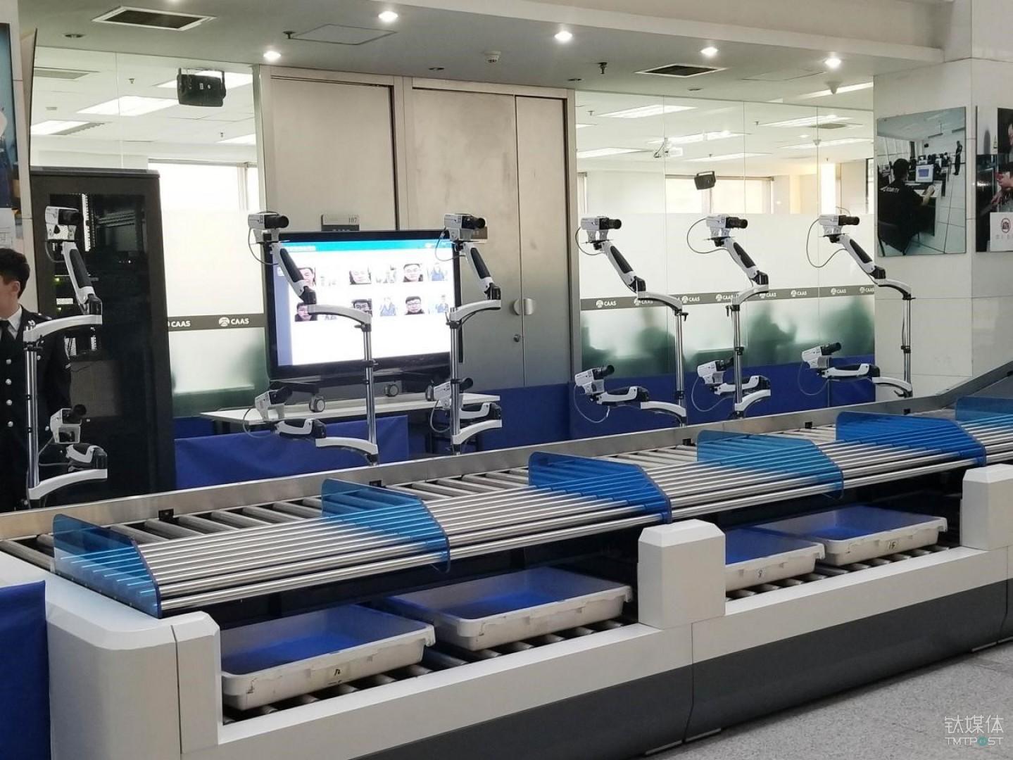 机场安检也有黑科技,可免除很多出行烦恼