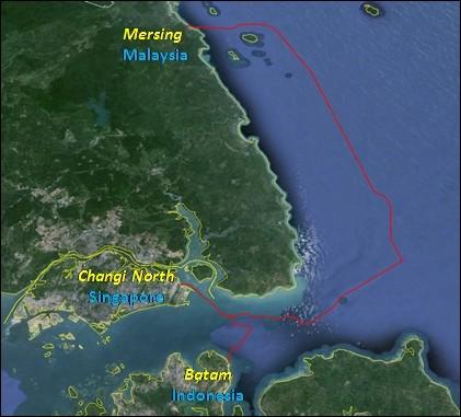 马来西亚-新加坡-印尼海底光缆SEAX-1建成投产