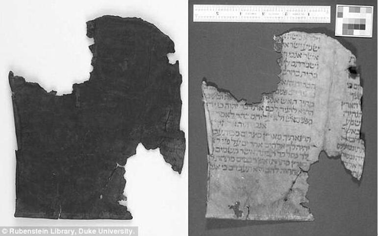 多光谱成像技术揭示古代羊皮纸上的隐藏文字