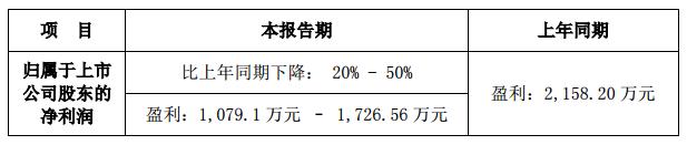 雷曼股份半年报净利预计下降20%至50%