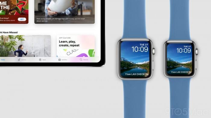 新一代iPad Pro和Apple Watch S4长啥样?外媒渲染图曝光