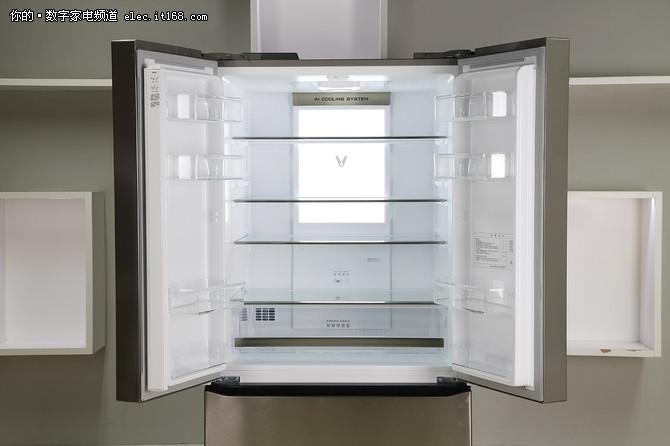 大屏幕有大智慧 云米互联网冰箱21Face评测