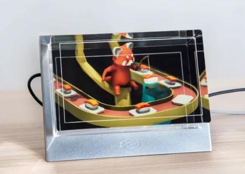 全息显示器现世 裸眼3D看起视频来超爽
