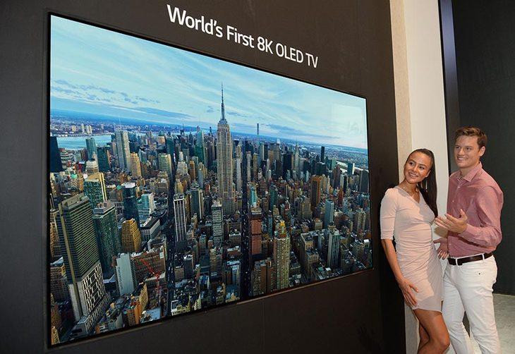 从概念走向现实 盘点已经来到我们身边的8K电视