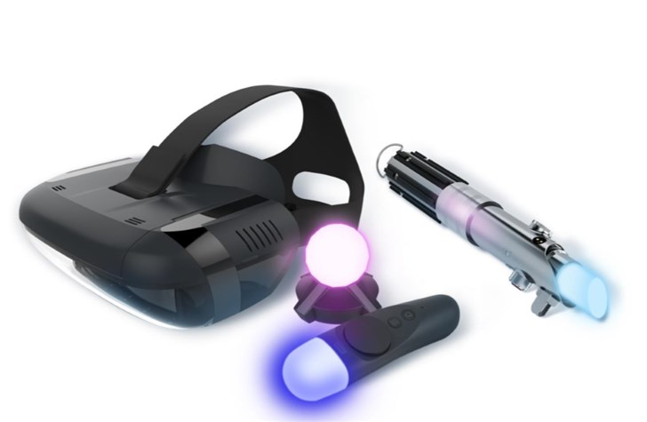联想Mirage AR Play登场,万能手柄上线趣味性加倍