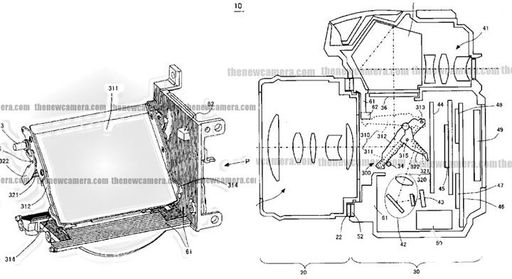 尼康新型反光板专利 改善工作震动问题